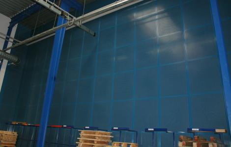 MATADOR Lydmur med fuld absorption 9 m høj.