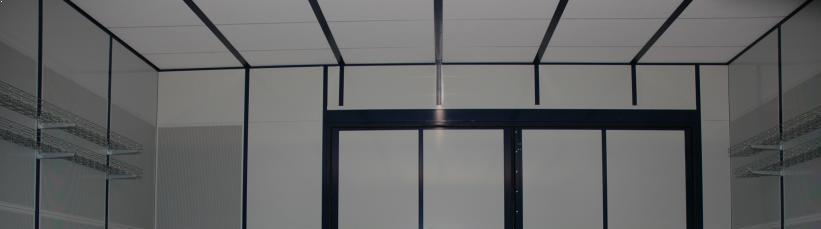 Loft i bulderhus med maksimal absorbtion.