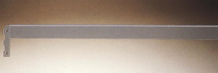 Smith Storfagsreol med bjælker bukket i profil i 2 mm plade, leveres i længder af: 1000, 1500, 2000, og 2500 mm.