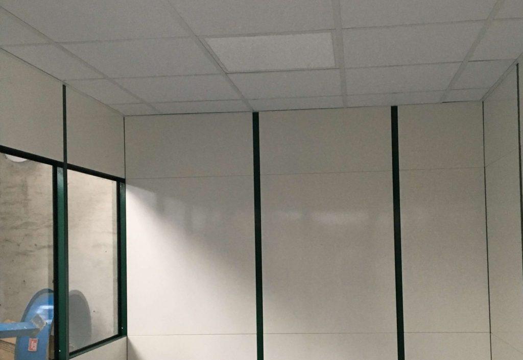 Flytbare MATADOR rum, komplet med lysarmaturer.
