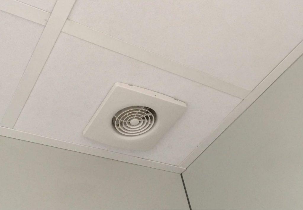 Flytbare MATADOR rum, komplet med ventilation.