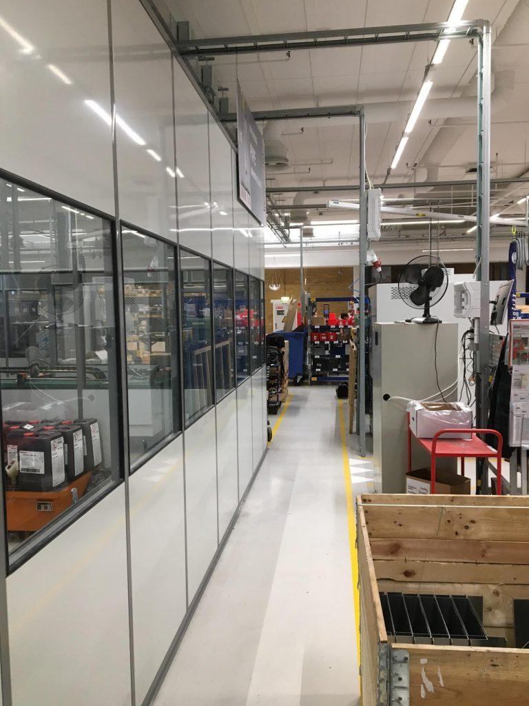 Kontor i lagermiljø